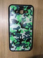Силіконова накладка Samsung J700(J7-2015)/J7 Neo J701F(Remax Night Series) Black (Military Green)