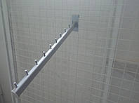 Торговий кронштейн (флейта) на сітку довжиною 450мм, фото 1