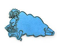 Магнит дерево Год синего деревянного барашка 2015