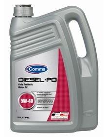 Синтетическое моторное масло Comma Diesel PD 5w40 4.5л (1л)