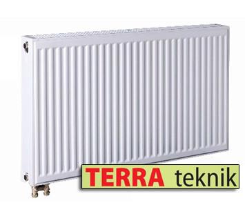 Стальной радиатор 22 тип 500х900 TERRA teknik (нижнее подключение)
