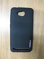 Силіконова накладка Huawei Y3 II(LUA-U22)(Rock Matte Series) Black