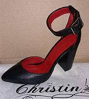 Кожаные босоножки Christina. Опт, розница, дропшиппинг