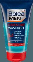 Гель для умывания лица Balea men Clear+Care 3 in1, 150 мл.