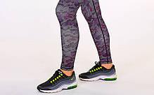 Комплект для фитнеса: лосины+топ MILITARY CO-7150 (лайкра, р-р M-L-44-48, бордо), фото 3