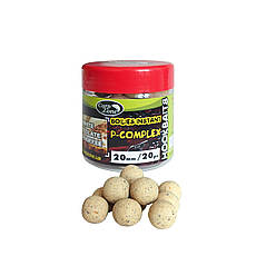 Бойлы насадочные вареные Boilies P-Complex Instant Hookbaits White Chocolate & Banoffee (Шоколад и Баноффи)