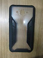 Накладка на Samsung J700(J7-2015)/J7 Neo J701F (iPaky Carbon Fiber Seria) Black