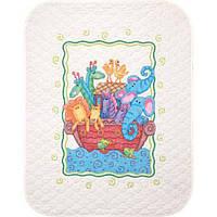 """Набор для вышивания крестом 73125 """"Ноев ковчег"""" (одеяло) DIMENSIONS, фото 1"""
