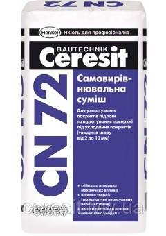Самовирівнююча суміш Ceresit CN72 2-10мм 25Kg