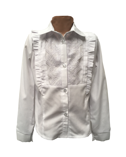 """Шкільна дитяча блуза для дівчинки """"Ліза"""""""