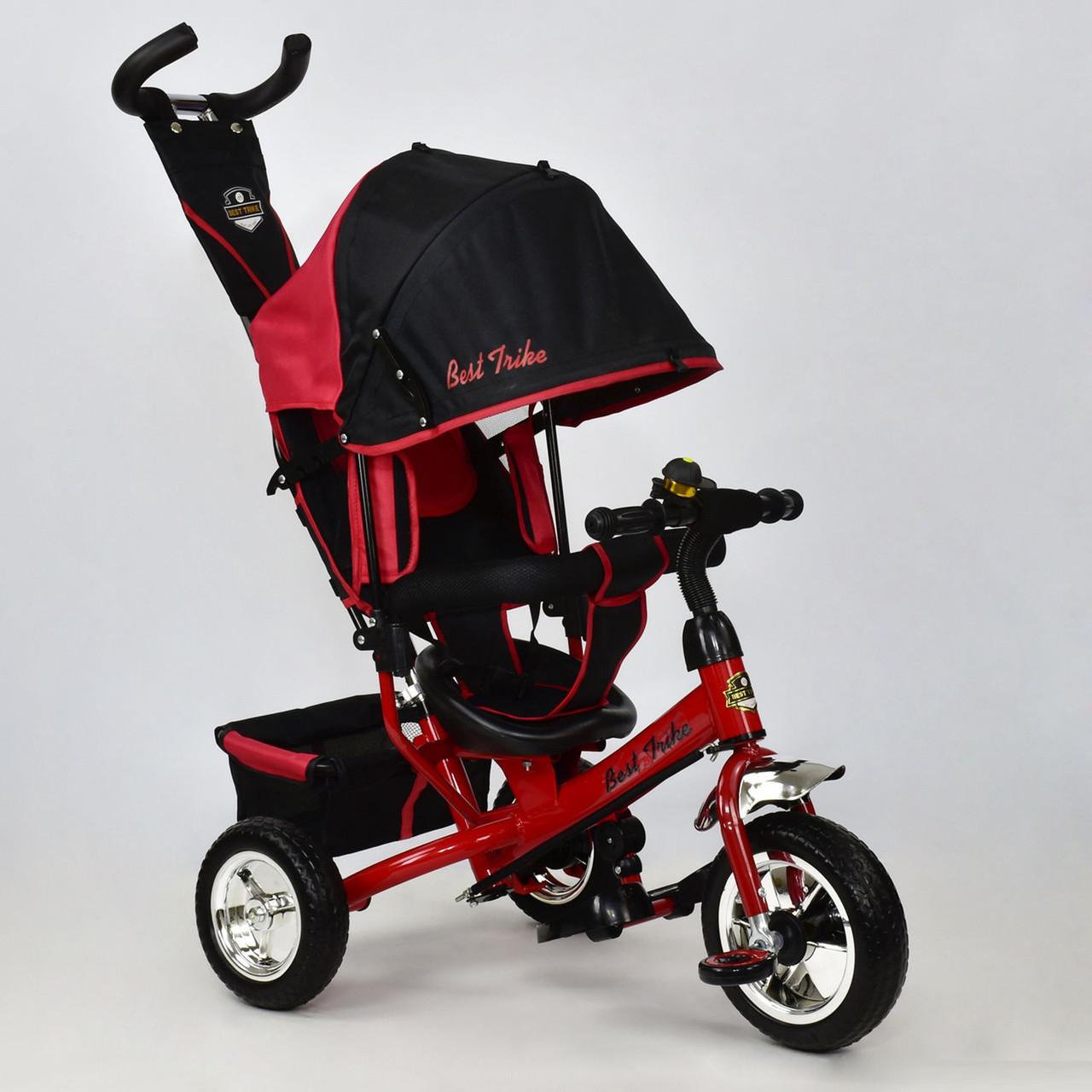 Детский трехколесный велосипед Best Trike 6588-1570 красный (колеса пена)