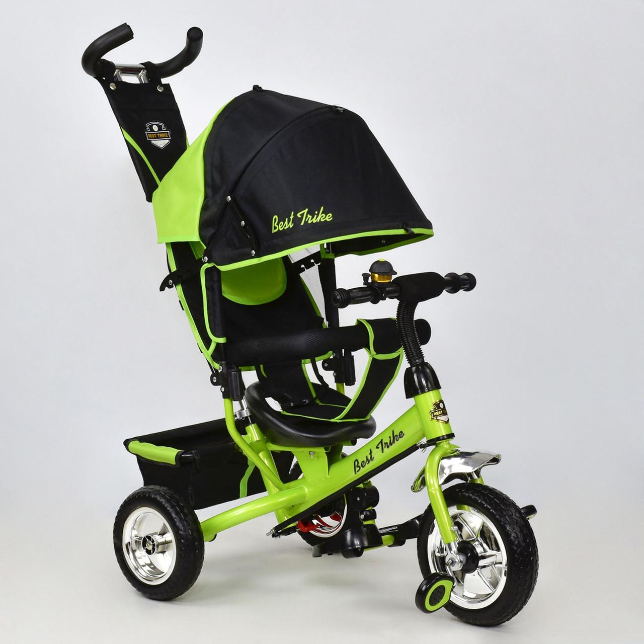 Детский трехколесный велосипед Best Trike 6588-1020 салатовый (колеса пена)