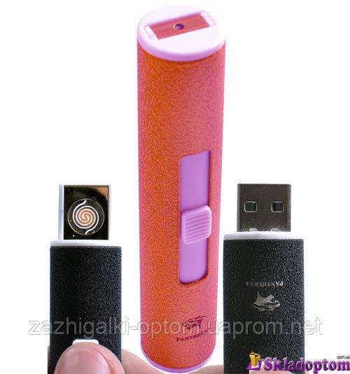 """USB зажигалка """"PANTHERA"""" 4804-6 (спираль накаливания)"""