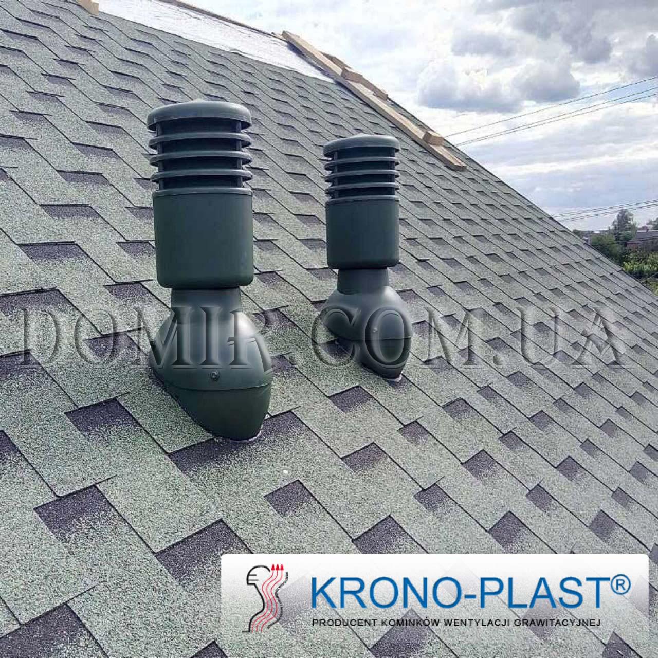 Вентиляционные выходы для битумной черепицы Krono-plast