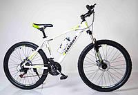 """Велосипед горный 26"""" HAMMER Бело-Салатовый. Алюминиевая легкая рама., фото 1"""