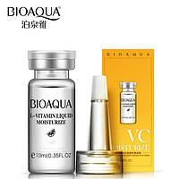 Сыворотка с витамином С, Bioaqua L-Vitamin Liquid Moisturize