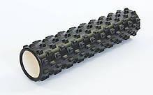 Ролер для занять йогою і пілатесом Grid Rumble Roller l-61см FI-6280, фото 2