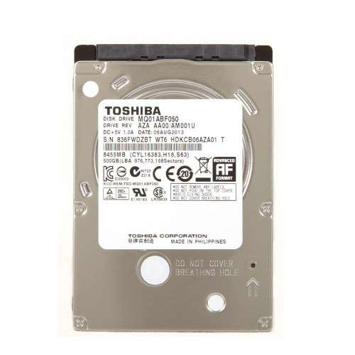 "Жесткий диск Toshiba 500GB 5400rpm 8MB MQ01ABF050 2.5"" SATAIII ""Over-Stock"" Б/У"