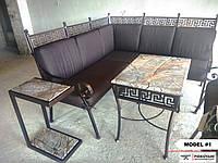 Ковані вуличні меблі