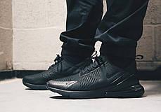 Кроссовки Nike Air Max 270 (Черные), фото 3