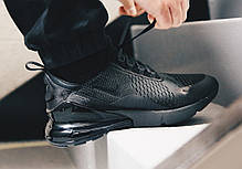 Кроссовки Nike Air Max 270 (Черные), фото 2