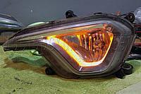 Дневные Ходовые Огни (DRL FLEX) гибкие с функцией поворота 60 см.
