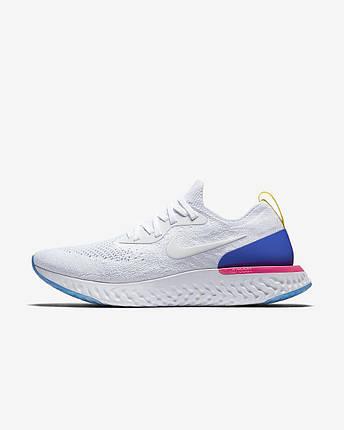 Кроссовки Nike Epic React Flyknit (Белые), фото 2