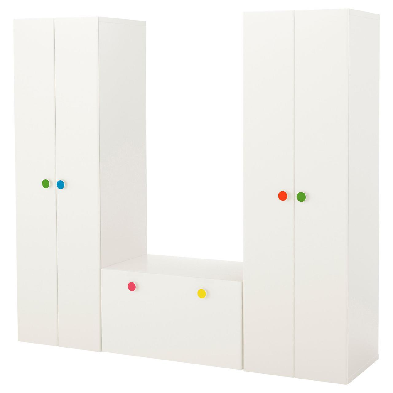 комбинация мебели со скамьей для хранения Ikea Stuva Följa икеа