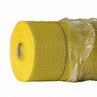 Сетка штукатурная 125г/м2 желтая (WORKS)