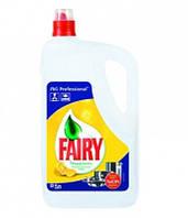 Средство для мытья посуды Fairy Lemon 5л Фейри канистра 5л