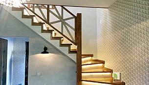 Сходи. Типи сходів