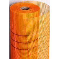 Сітка штукатурна 160г/м2, помаранчева (WORKS)