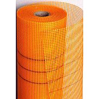 Сетка штукатурная 160г/м2 оранжевая (WORKS)