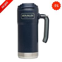 Термокружка  Travel 0.47 л,  темно-синяя (Stanley)