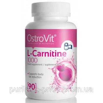 L-карнитин OstroVit L-carnitine 1000 90 таб, фото 2