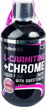 BioTech (USA) L-carnitine 35.000 + Chrome 500 мл., фото 2