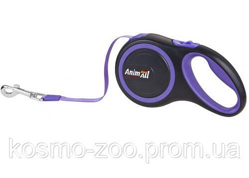 Рулетка поводок AnimАll (Энимал) для собак, 3 метров до 15 кг
