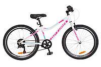 """Детский велосипед Optima Blackwood 24"""" бело-розовый"""