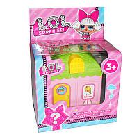 """Дом для куклы """"L"""" KX567H с куклой и аксессуарами"""