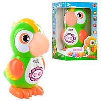 Интерактивная игрушка Попугай 7496 сенсор, стихи,сказки,диктофон