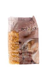 ItalWax Горячий пленочный воск в гранулах Натуральный Hot Film Wax For Depilation Natural 1000 мл Код 12290