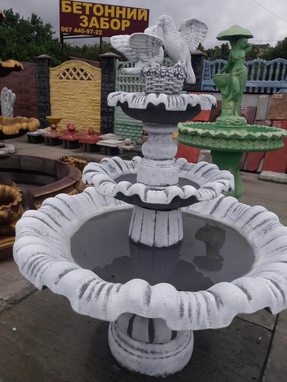 куплю садовый фонтан из бетона