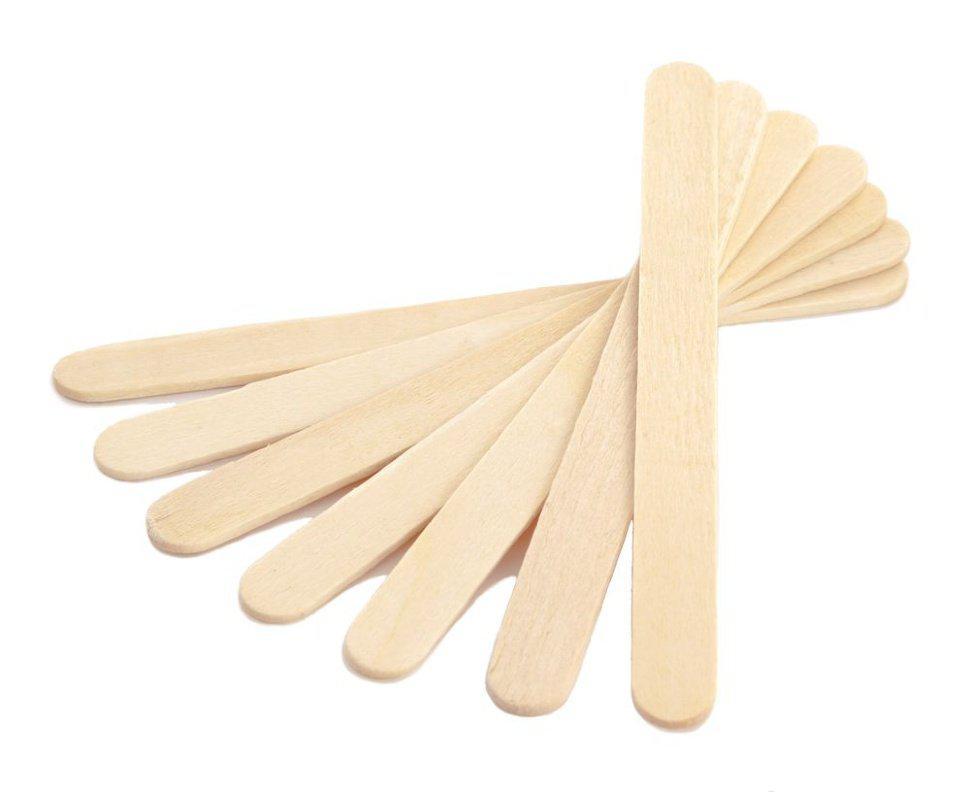 Шпатель деревянный, 100 штук