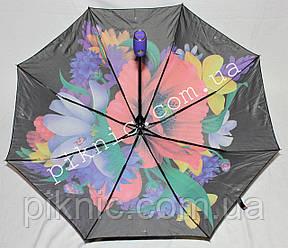 """Женский зонт складной автомат """"Мак"""". Зонтик от дождя., фото 2"""