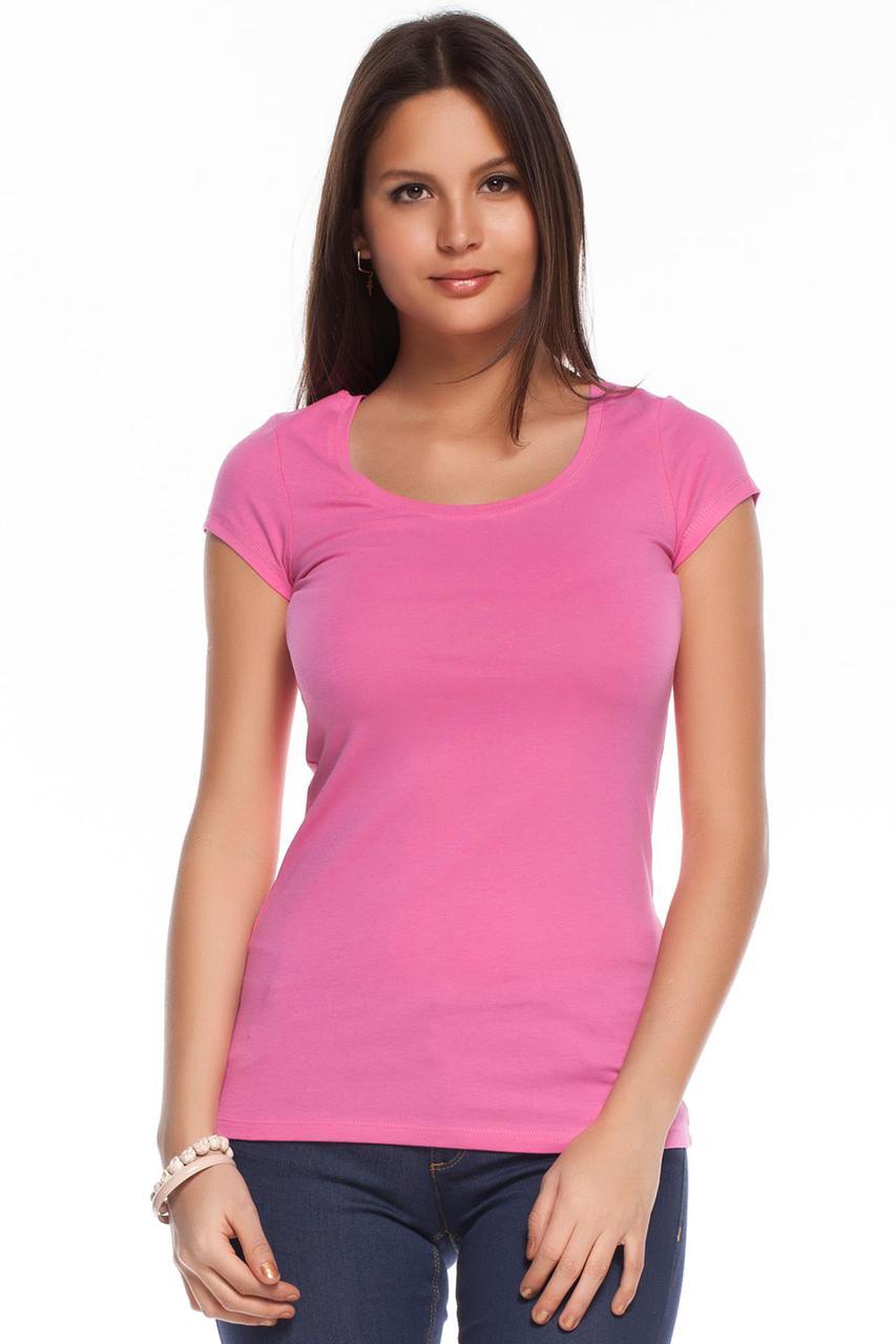 Розовая женская футболка De Facto / Де Факто