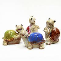Статуэтки интерьерные Черепашки керамика