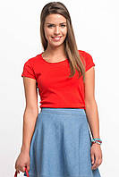 Красная женская футболка De Facto / Де Факто, фото 1