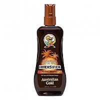 Масло для загара на солнце AUSTRALIAN GOLD SPF  INTENSIFIER BRONZING DRY OIL SPRAY, 237 ml
