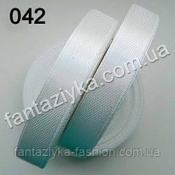 Лента атласная для рукоделия 1,2 см, молочная 042
