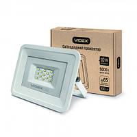 LED прожектор VIDEX 10W 5000K 220V White (VL-Fe105W)